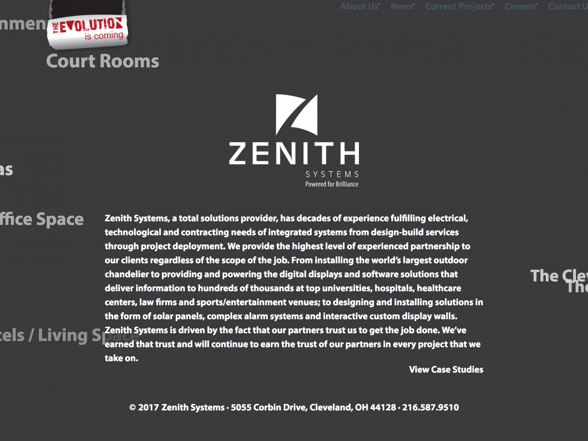 Zenith Systems Website